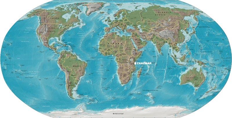 Santa maria coral park zanzibar map of the world zoom gumiabroncs Gallery